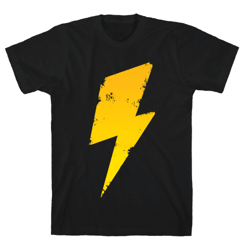 Lightning Bolt Mens T-Shirt