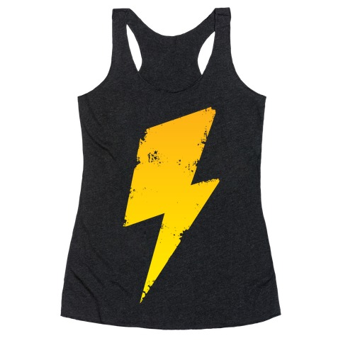 Lightning Bolt Racerback Tank Top