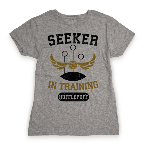 Seeker In Training (Hufflepuff) Womens T-Shirt
