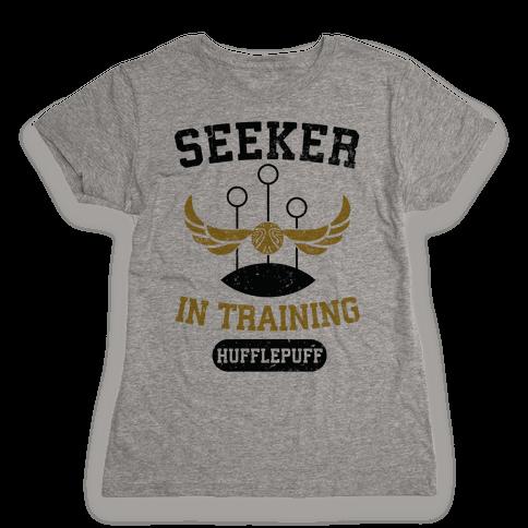 Seeker In Training (Hufflepuff) Womens T-Shirt