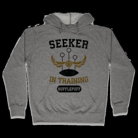 Seeker In Training (Hufflepuff) Hooded Sweatshirt