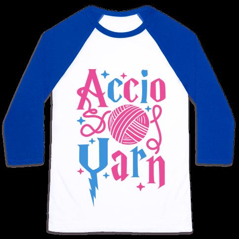 Accio Yarn Baseball Tee