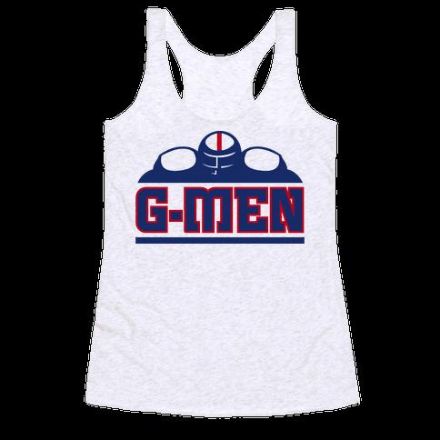 G-Men Racerback Tank Top