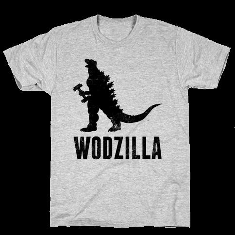 Wodzilla Mens T-Shirt