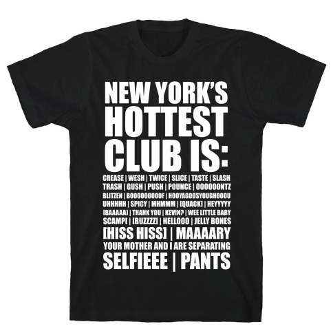 New York's Hottest Club Is T-Shirt