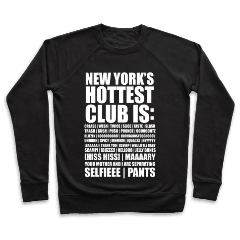 New York's Hottest Club Is Pullover