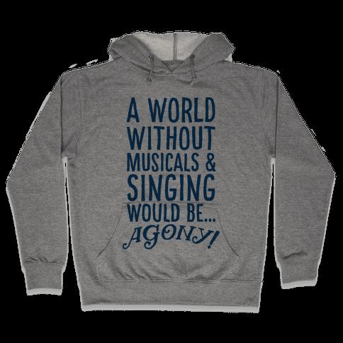 Agony Hooded Sweatshirt