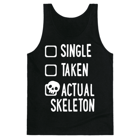 Actual Skeleton Tank Top