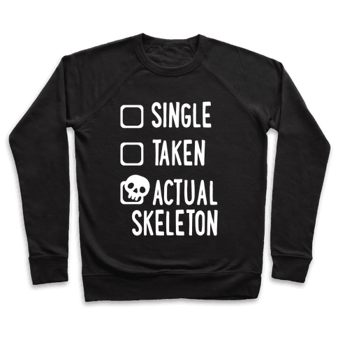 Actual Skeleton Pullover