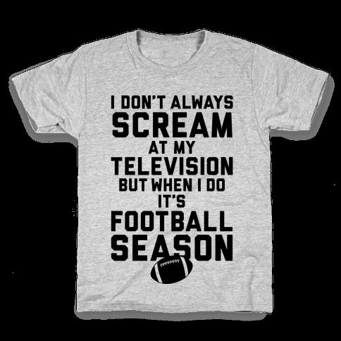 Football Season Kids T-Shirt