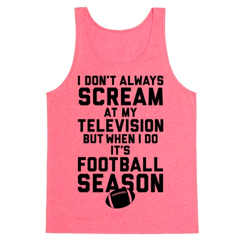 Football Season Tank Top