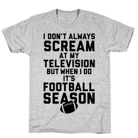 Football Season Mens T-Shirt