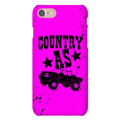Country As Truck Phone Case