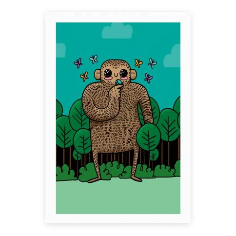 Baby Bigfoot Poster