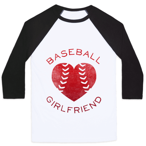 Baseball Girlfriend (Red Tank) Baseball Tee