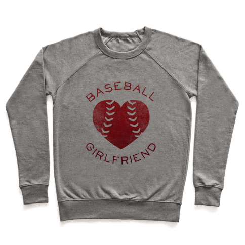 Baseball Girlfriend (Red Tank) Pullover