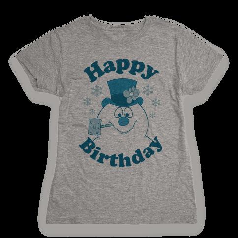 Happy Birthday Womens T-Shirt