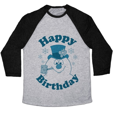 Happy Birthday Baseball Tee