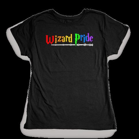 Wizard Pride Womens T-Shirt