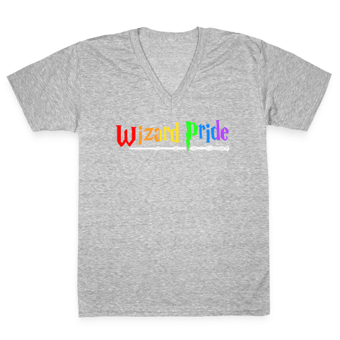Wizard Pride V-Neck Tee Shirt