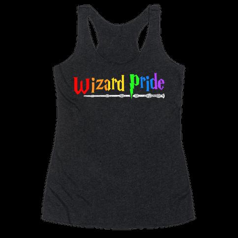 Wizard Pride Racerback Tank Top