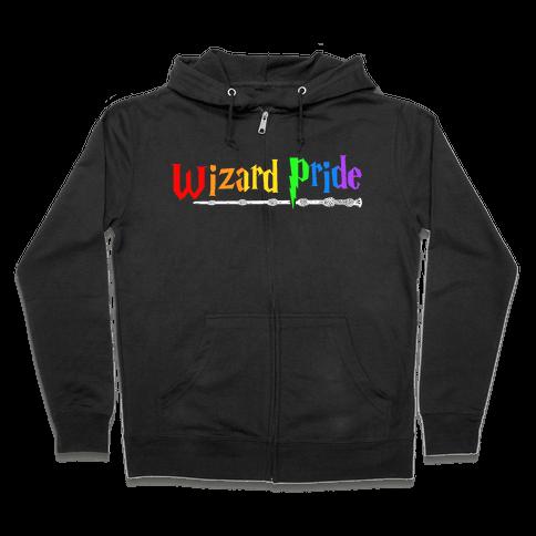 Wizard Pride Zip Hoodie