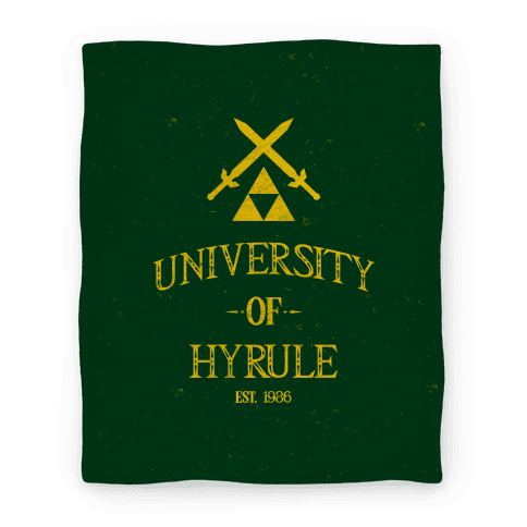 University Of Hyrule Blanket