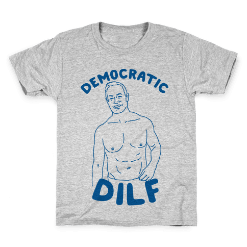 Democratic Dilf Kids T-Shirt