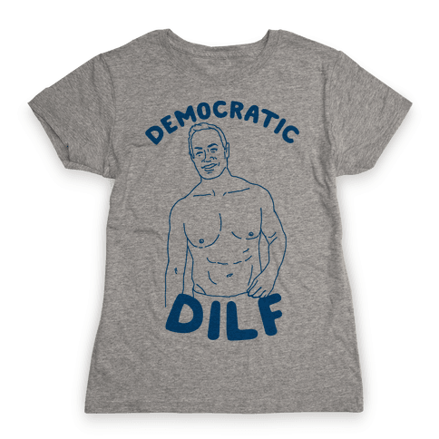 Democratic Dilf Womens T-Shirt