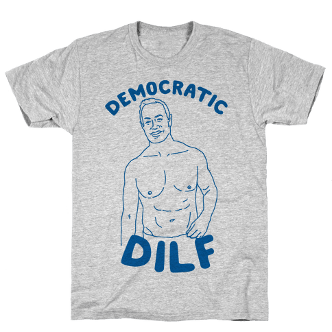Democratic Dilf Mens T-Shirt