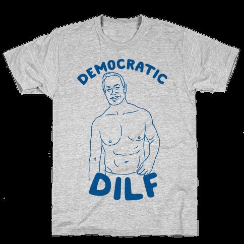 Democratic Dilf Mens T-Shirt
