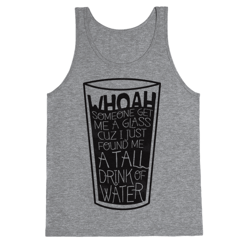Tall Drink Tank Top