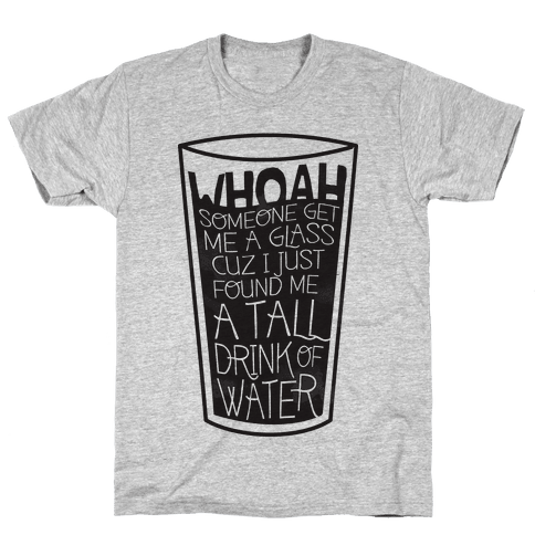 Tall Drink Mens T-Shirt