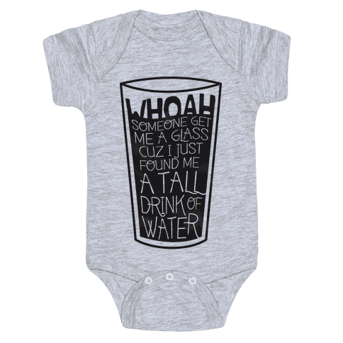 Tall Drink Baby Onesy