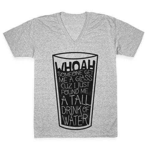 Tall Drink V-Neck Tee Shirt