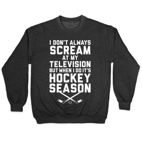 Hockey Season Pullover
