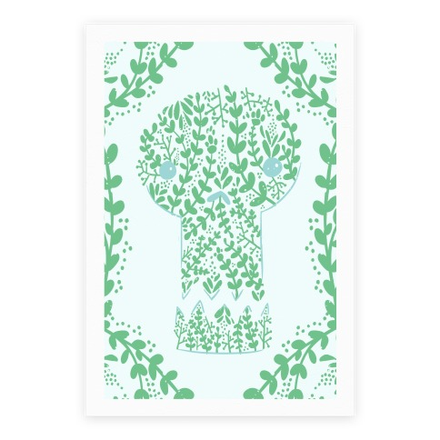 Decorative Skull Poster