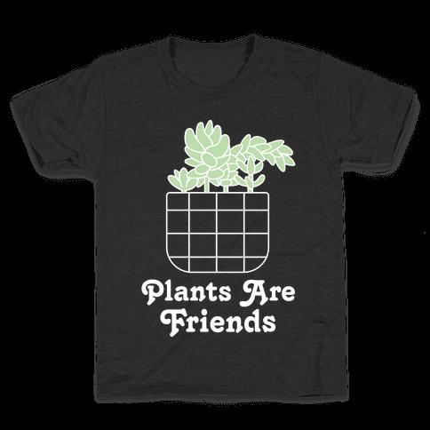 Plants are Friends Kids T-Shirt