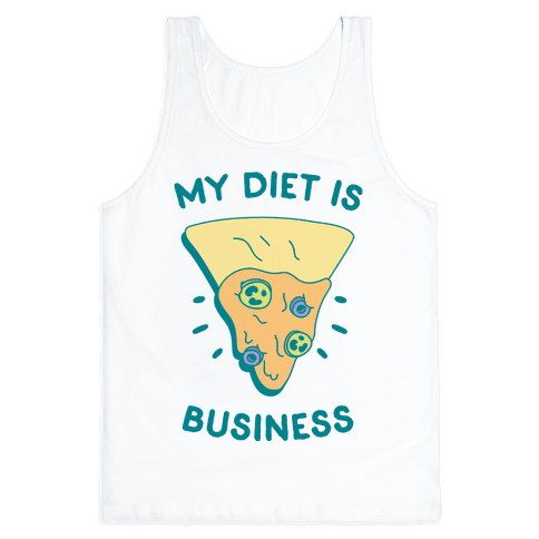 My Diet Is Nacho Business Tank Top