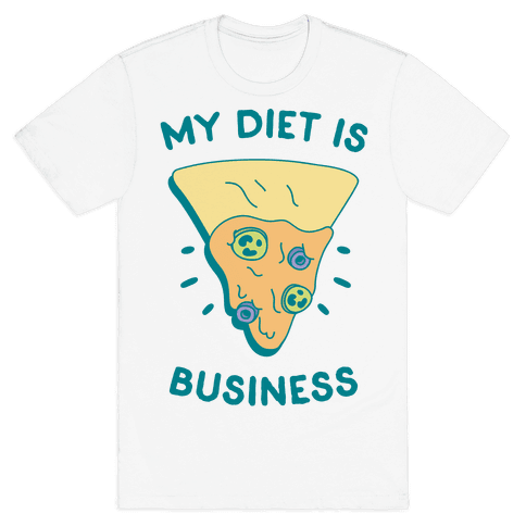 My Diet Is Nacho Business Mens T-Shirt
