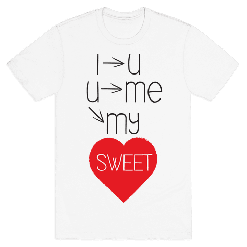 Sweet Heart Mens T-Shirt