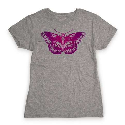 Harry's Butterfly Tattoo (Vintage Style) Womens T-Shirt