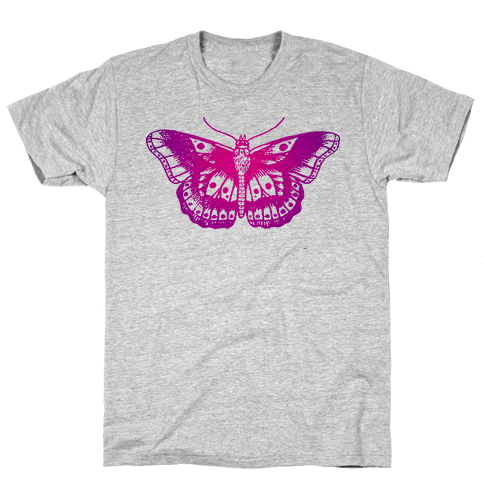 Harry's Butterfly Tattoo (Vintage Style) Mens T-Shirt