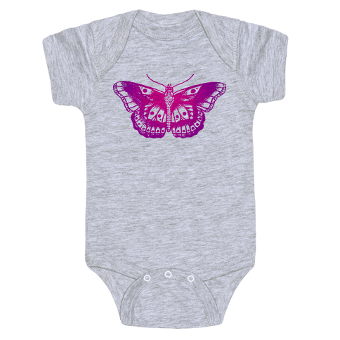 Harry's Butterfly Tattoo (Vintage Style) Baby Onesy
