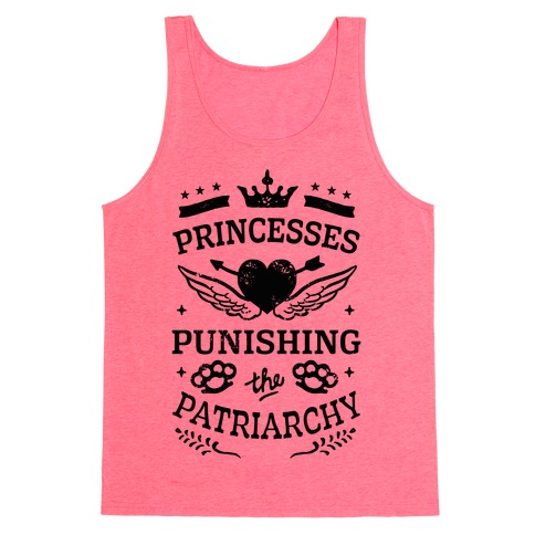 Princesses Punishing The Patriarchy Tank Top