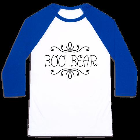 Boo Bear Baseball Tee