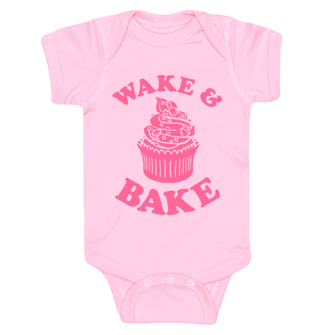 Wake and Bake Baby Onesy