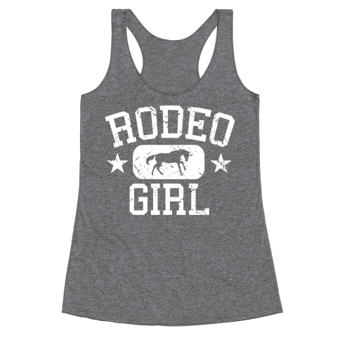 Rodeo Girl Racerback Tank Top