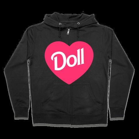 Doll Zip Hoodie