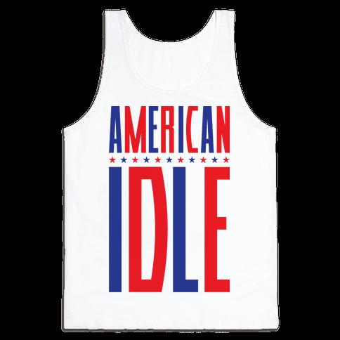 American Idle Tank Top